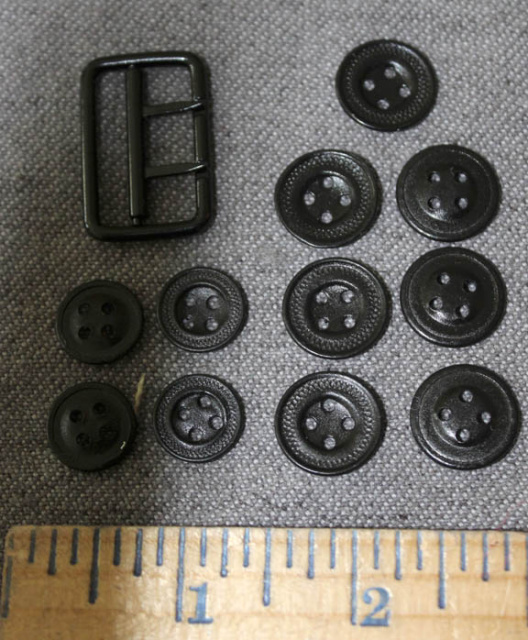 Button and Buckle Packet