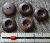 2 hole Wooden Buttons