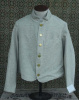 "Size 50 ""Natural light gray"" Jean machine top stitched Commutation Jacket"